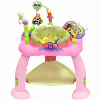 La Casita Del Arbol (Bebés Y Chicos):        Jumper Rebotador Centro De Actividades Para Bebés Luz/Sonido