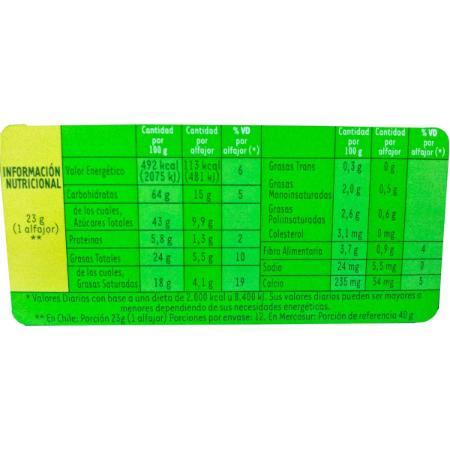 La Golosinería (Comidas Y Alimentos):        12u Alfajor Arroz Ser 113kcal Tipo Chocoarroz La Golosineria