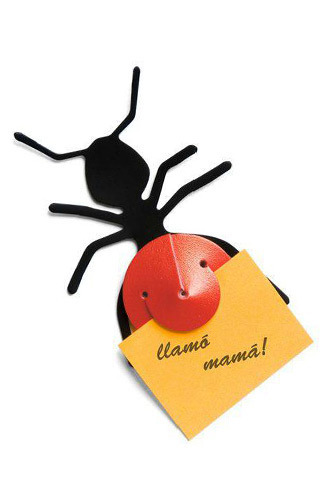 La Sarana (Regalos Y Objetos De Diseño):        Clip Imantado Con Forma De Hormiga