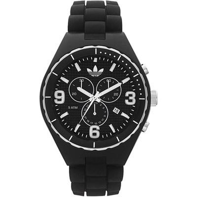 La Tienda Del Reloj (Relojes):        Reloj Adidas Cambridge Cronografo Negro Silicona Wr50 M Adh2606