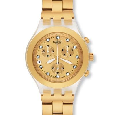 La Tienda Del Reloj (Relojes):        Reloj Swatch Full Blooded Svck4032 G Gold