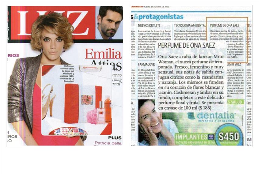 Leticia Erroz (Belleza Y Cuidado Personal):        Leticia Erroz Prensa