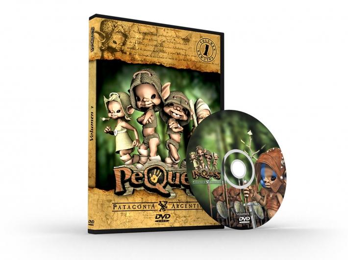 Los Peques (Merchandising):        Dvd Vol. 1