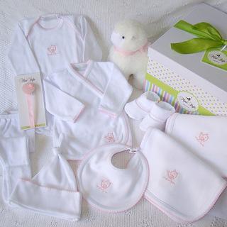 Mini Style Tienda (Bebés Y Chicos):        Ajuar AlgodÓn Completo
