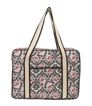 Miss Pillow (Accesorios De Moda Y Bijou):        Maxi Bolso   Vintage Flamingo
