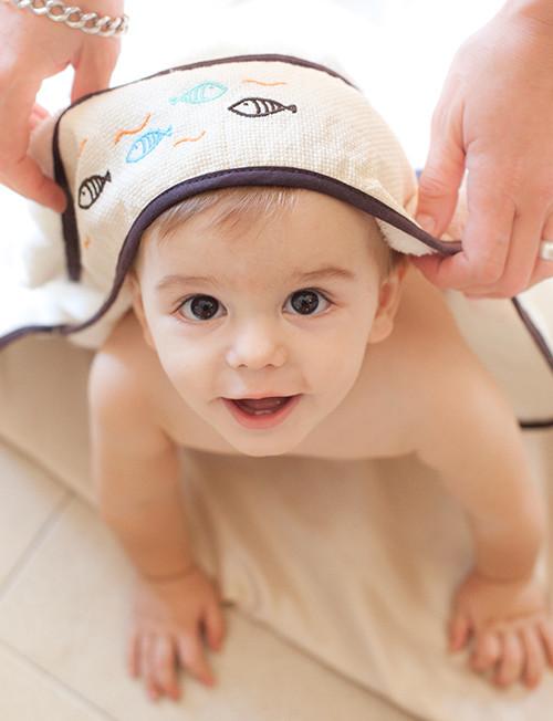 Modorra (Indumentaria De Bebes):        Toallon Capucha2