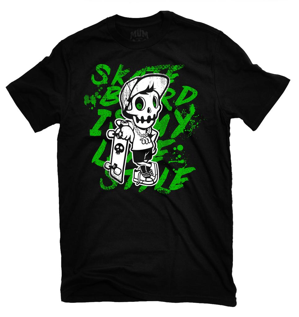 MÜm Clothes & Toys (Jugueterias):        Skater Tee Green