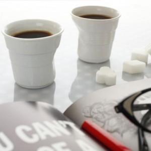 Munack Regalería Online (Regalos Y Objetos De Diseño):        Ooops Set X 2   Pocillos De Café De Porcelana