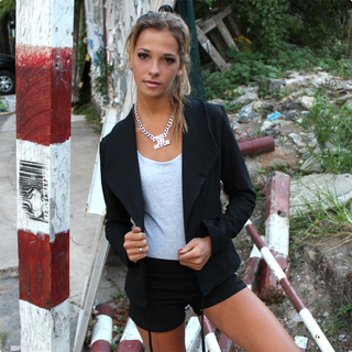 Natacha Mayer (Indumentaria):        Saco #606