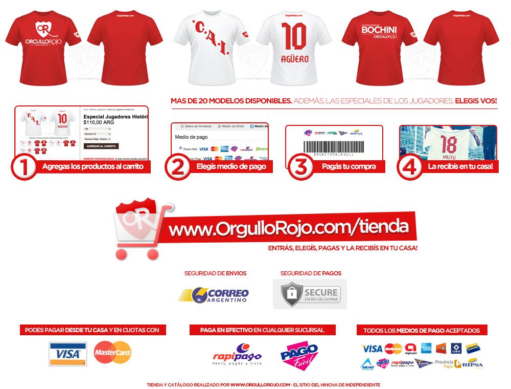 Orgullo Rojo (Merchandising):