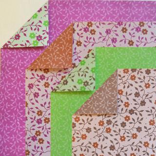 Origamiteca (Decoración, Bazar & Hogar):        Tesel Flor Vintage Bifaz