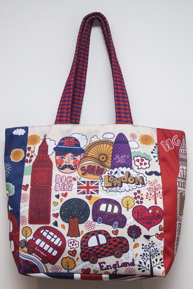 Panama Bags (Carteras Y Bolsos):        Full Color Tote London