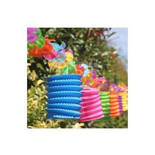 Party Online (Fiestas Y Cotillón):        Guirnalda Farolitos Spring Con Flores