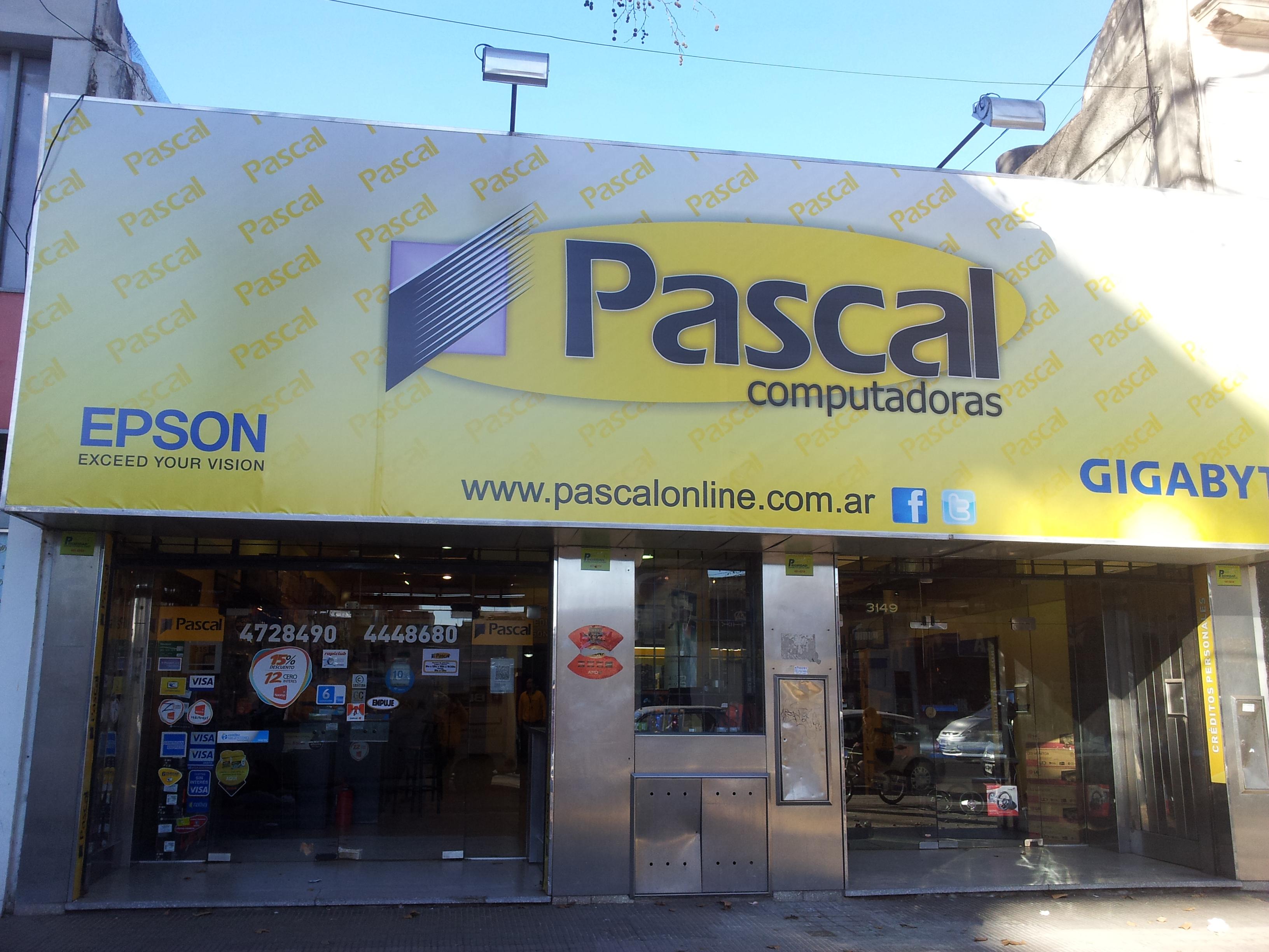 Pascal Computadoras (Computación):        Sucursal Zona Sur