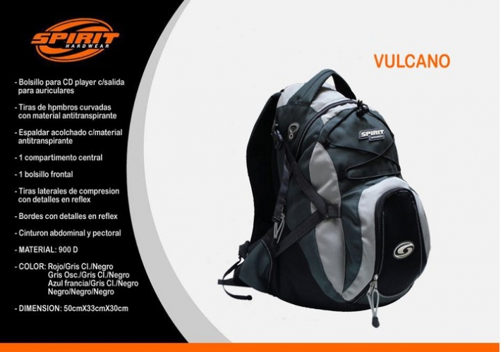 Patagonia Spirit (Deportes Y Fitness):        Vulcano