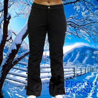 Pegaso Patagonia (Deportes Y Fitness):        Pantalon Ski Nieve Entallado Softshell Mujer Oslo Pgs