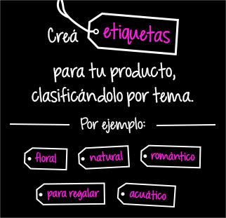 Perfumería Juleriaque (Belleza Y Cuidado Personal):        Creá Etiquetas Para Tu Producto, Clasificándolo Por Tema