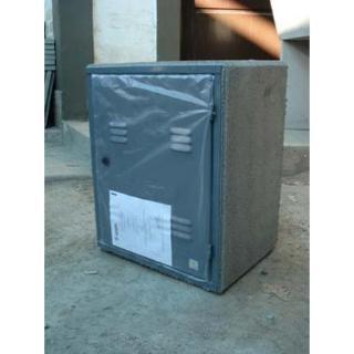 Persico Sanitarios (Construcción):        Gabinete Para Gas Aprobado (50 X 40 Cm) Puerta De Chapa