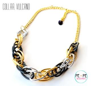 Pey Pe Accesorios (Accesorios De Moda Y Bijou):        Collar Vulcano