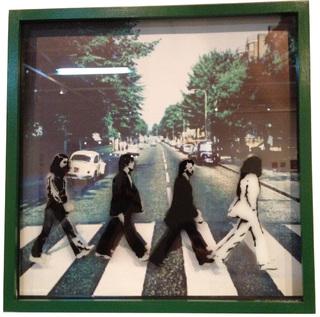 Pilgrim Art (Arte):        The Beatles   Abbey Stencil