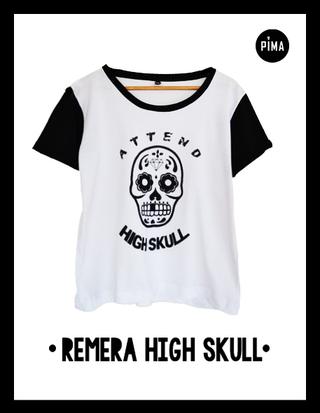 Pima Remeras (Remeras):        Remeron High Skull Combinada