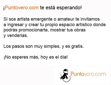 Puntovero (Arte):        Acceso Artistas