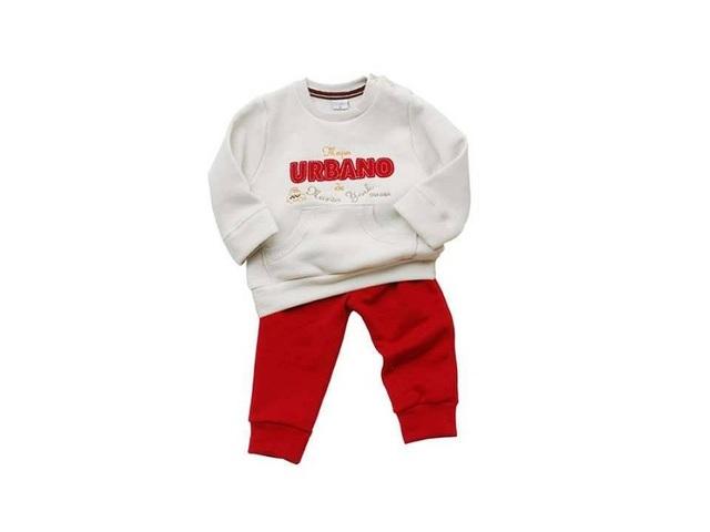 Que Bonitos! (Bebés Y Chicos):        Conjunto Jogging Frisa