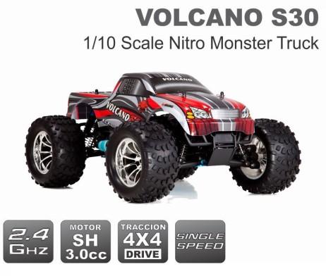 Rc Nitro (Jugueterias):        Volcano S30 462x392