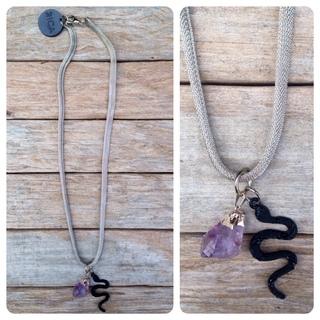 Rica Handbags (Carteras Y Bolsos):        Collar Coraline Snake