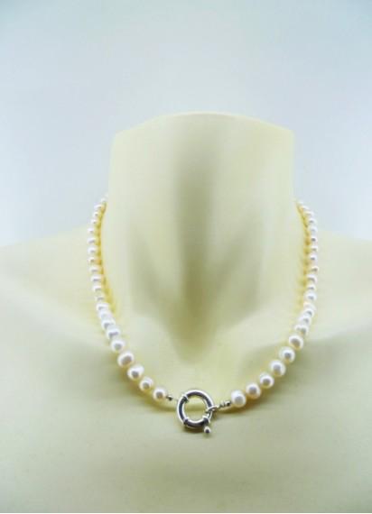 Ruminé Accesorios (Accesorios De Moda Y Bijou):        Collar Perla De Rio Natual
