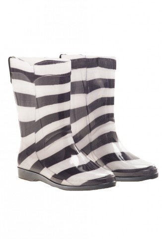 Seco Rainwear (Indumentaria):        Seco   Botas Dry Rayas Blanco