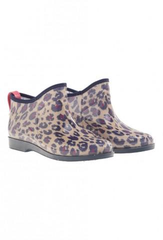 Seco Rainwear (Indumentaria):        Zuecos Dry Animal Print Violeta