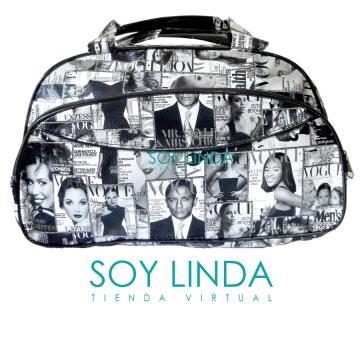 Soy Linda (Belleza Y Cuidado Personal):        Bolso Dama Revista Cosmopolitan Vogue