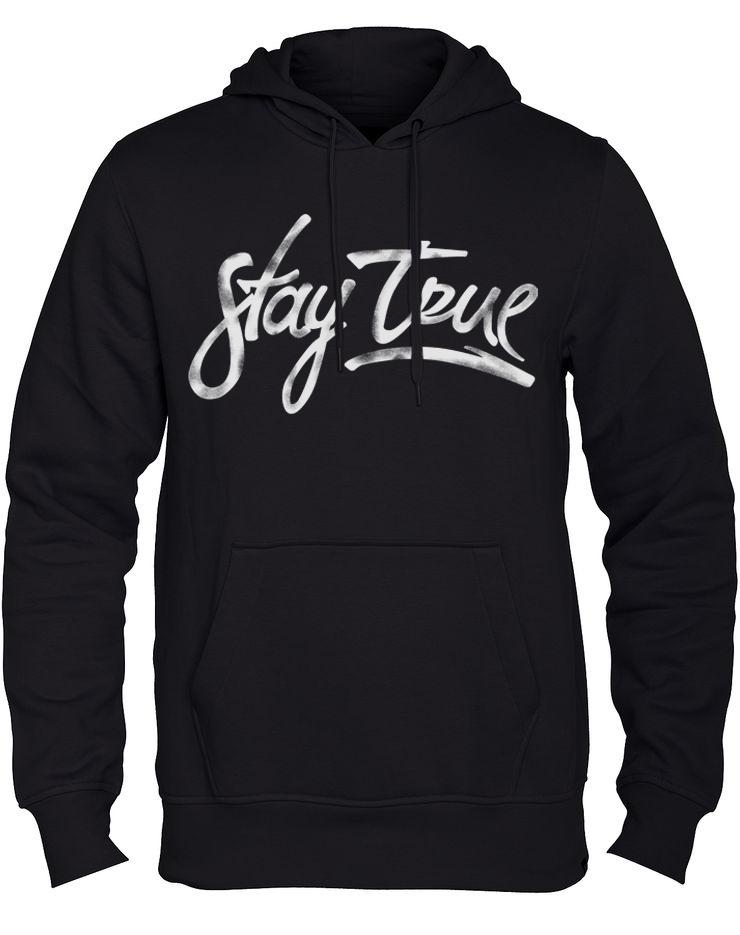 Stay True Clothing (Remeras):        Black Class Hoodie