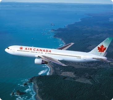 Submarino Viajes (Viajes Y Turismo):        Avião Air Canada