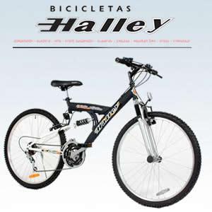 Tecnostyle (Electro Y Tecnología):        Bicicleta Halley Mtb Full Suspension Mod 19302