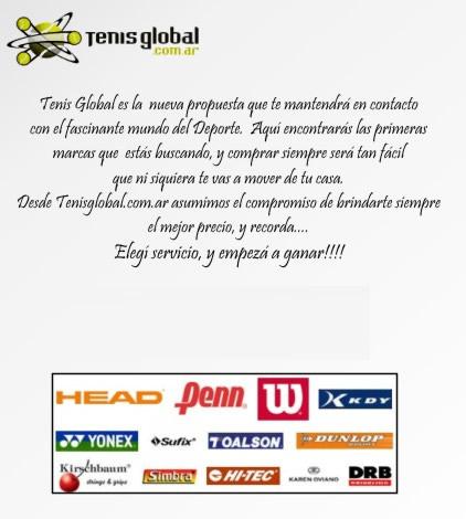 Tenis Global (Deportes Y Fitness):        Institucional
