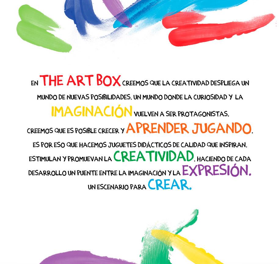 The Art Box (Jugueterias):        Creatividad, Imaginación, Aprender Jugando, Expresión, Crear