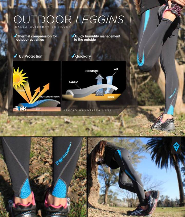 Thermo Skin (Deportes Y Fitness):