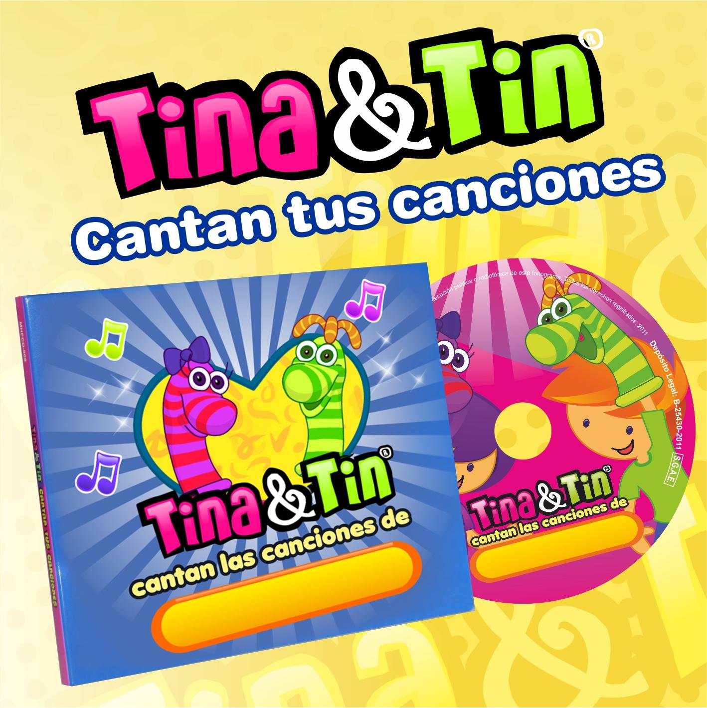 Tienda Pura Mamá (Bebés Y Chicos):        Cd Personalizado Tina&Tin
