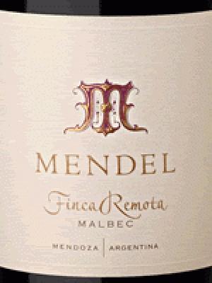 Un Vino Ahora (Vinos Y Bebidas):        Mendel Finca Remota 2009