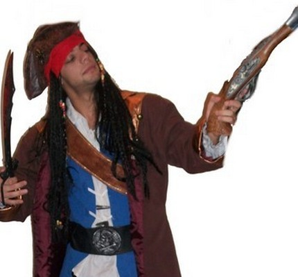 Upa Disfraces (Fiestas Y Cotillón):        Jack Sparrow