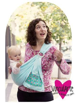 Vincul Arte (Bebés Y Chicos):        ♥ Pielapiel Sling (Portabebé De Anillas • Diseños únicos!)