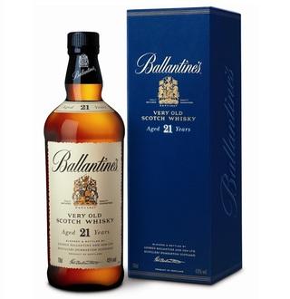Vinoteca Dvino (Vinos Y Bebidas):        Ballantines 21 Yo Estuche 1x750