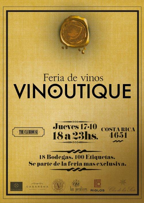 Vinoutique (Vinos Y Bebidas):        Flyer