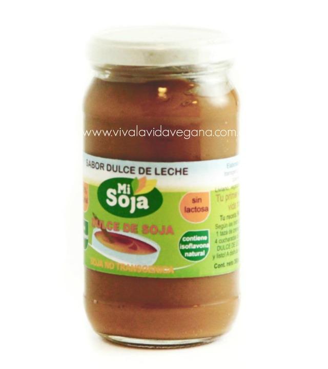 Vivi La Vida! – Vegana (Comidas Y Alimentos):        Dulce De Soja Sabor Dulce De Leche   360g