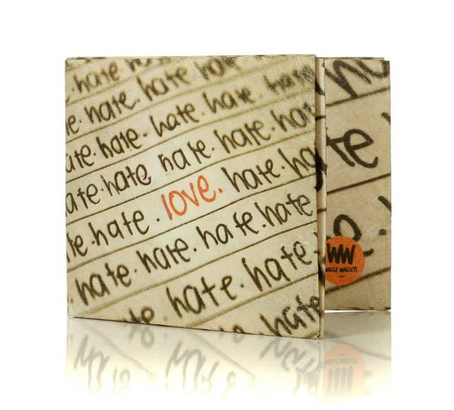 Wally Wallets (Regalos Y Objetos De Diseño):        Love Wallet