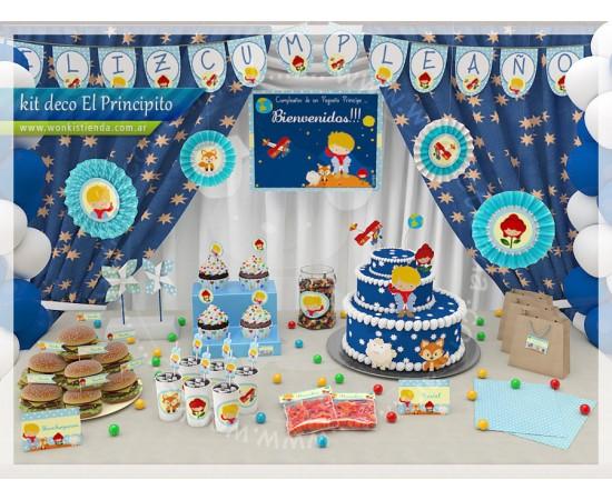 Wonkis! Objetos De Diseño (Fiestas Y Cotillón):        El Principito     Kit Decoracion Fiesta Imprimible
