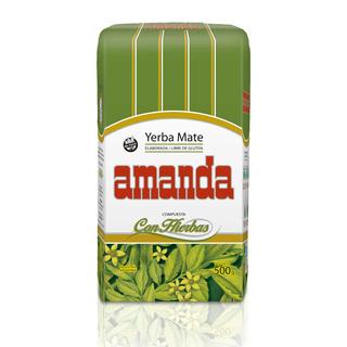 Yerba Amanda (Comidas Y Alimentos):        Yerba Mate Amanda Compuesta Con Hierbas  500gs