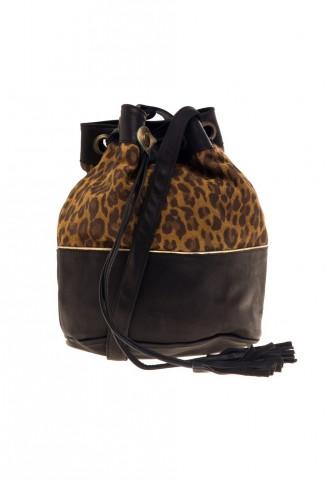 Zapatos Viamo (Calzado):        Viamo   Cartera Ca 531 Leopardo